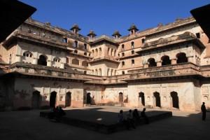 Inside Raja Mahal.