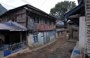 Street in Bahundanda.