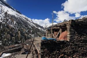 Khangsar, seen from the guesthouse's rooftop terrace.