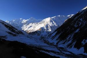 The Kone Khola valley near Churi Ledar.