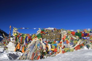 Thorung La, 5416 meters - 3,432 meters shy of being at the top of the world.