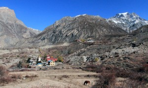 Monasteries near Muktinath.