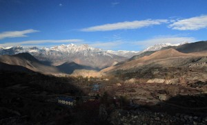The area near Muktinath, on the way to Chongur.