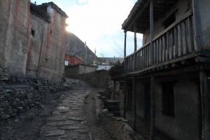 A street in Chongur.