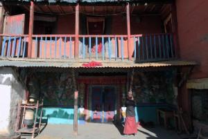 The Dzong Chode Shedup Choephel Ling Monastery.