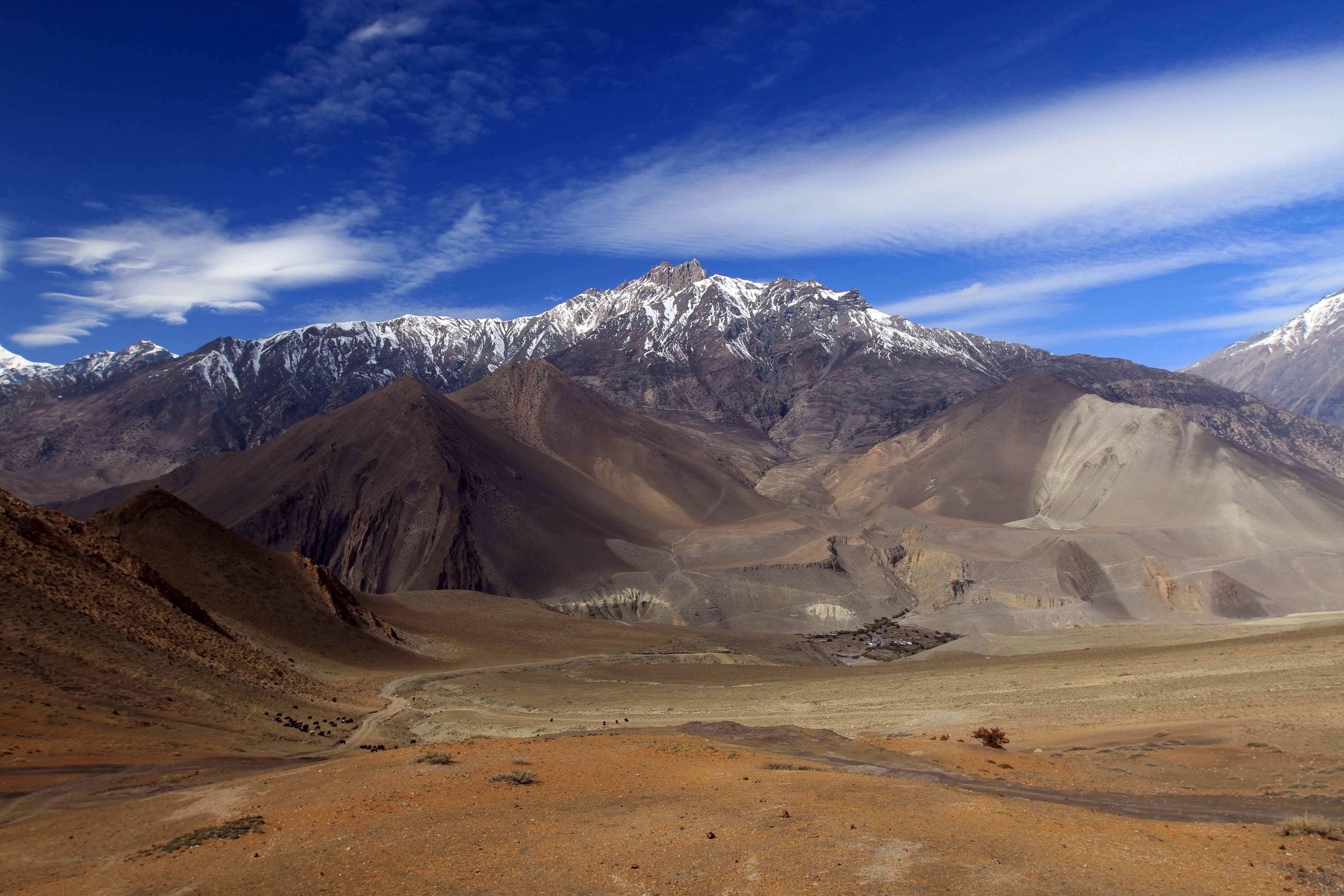 muktinath kagbeni dzong route