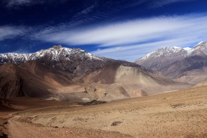 Mountains of Upper Mustang.