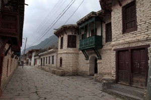 Historic buildings in Tukuche.