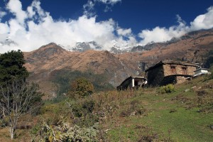 A house high up in Naurikot.