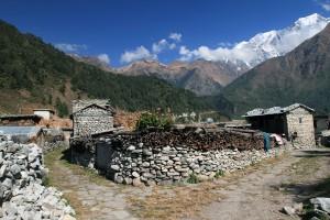 Split path in Chhoya.