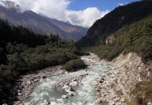 The Kali Gandaki Nadi.