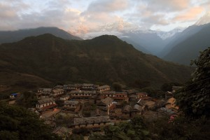 Another view of Old Ghandruk.