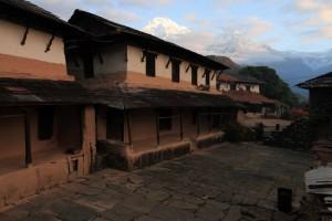 Homes in Old Ghandruk.