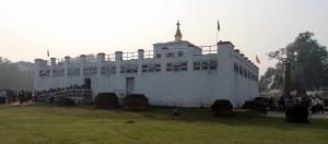 The Maya Devi Temple.