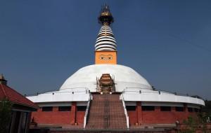The Dharmodaya Sabha Stupa.