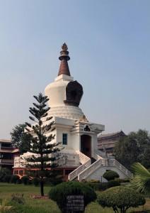 The Manang Sewa Samaj Stupa.