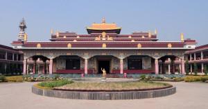 The Nepal Mahayan Temple.