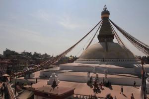 Another bird's eye view of Bouddhanath Stupa.