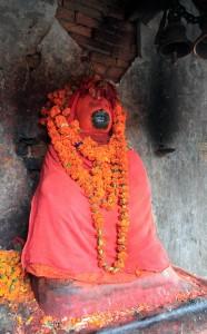 Sculpture of Hanuman (the monkey god).