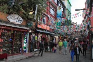 Street in Thamel.