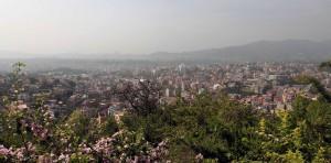 View of Kathmandu from Swayambhunath.