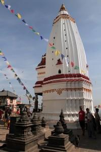 Temple in the Swayambhunath complex.