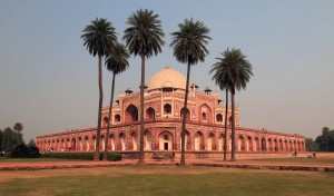 Another view of Humayun's Tomb.