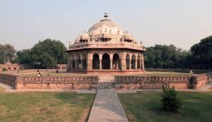 Isa Khan's Garden Tomb.