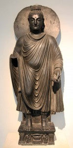 Buddha statue from the second century AD.