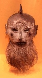 Bearded man mask.