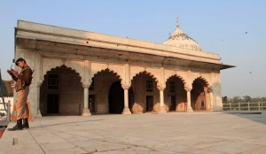 Khas Mahal in the Red Fort.