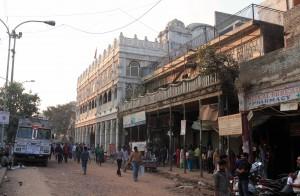 Street in Old Delhi.