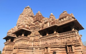 Angle view of Lakshmana Temple.