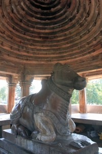 Shrine to Nandi.