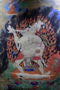 Thanka painting from Tibet.