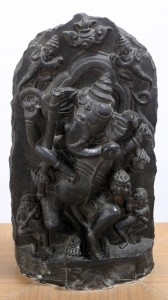Dancing Ganapati (sculpture from the 11th-century AD).
