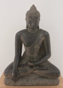 Buddha statue from the 10th-century AD.