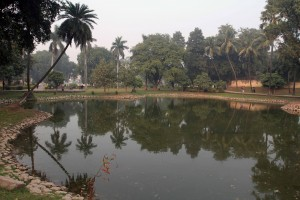 """Ancient Pataliputra"" (in Kumrahar), now just a park with a pond."