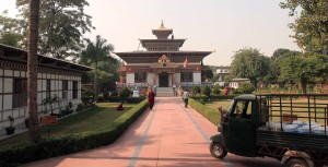 The Royal Bhutanese Monastery in Bodh Gaya.