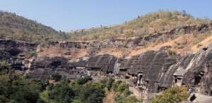 Ajanta Caves.