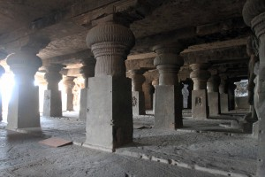 Colonnades in Cave No. 29.