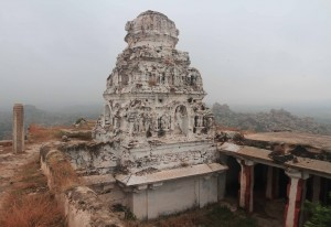 Veerabhadra temple on top of Matunga Hill.