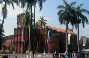 Basillica Bom Jesus in Old Goa.