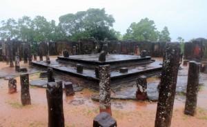 Sacred ruins in Polonnaruva.