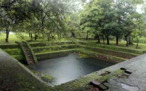 Water tank in Polonnaruva.