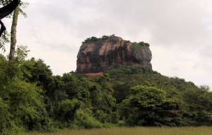 "Sigiriya (""Lion's Rock""), originally a monastery built in the 2nd to 1st centuries BC; King Kassapa I built a fortress, palace, and gardens here when he transferred the administrative center to here in the 5th-century AD."