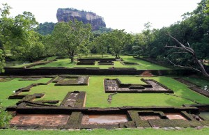 Sigiriya seen from the inner rampart.