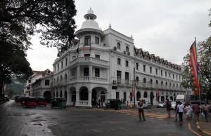 Historic building in downtown Kandy.