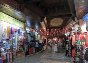 Inside Mutrah souq.