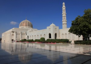 Sultan Qaboos Grand Mosque.